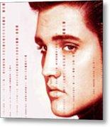 Elvis Preslely Metal Print