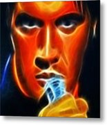 Elvis Presley Metal Print by Pamela Johnson