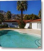 Elvis Presley's Palm Springs Home Metal Print