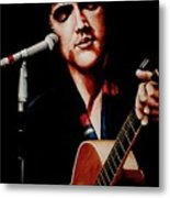 Elvis With Scarf Metal Print