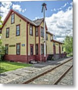 Ely Vermont Train Station Metal Print