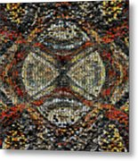 Embellished Texture Metal Print