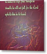 Embossed Rose Metal Print