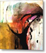 Embracing Secrets Panel One Of Two Metal Print