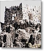 Emerald Bay Watchtower Metal Print