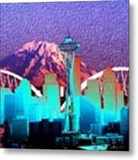 Emerald City Diamonds Metal Print