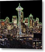 Emerald City Metal Print