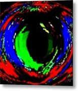 Emerald Eye Metal Print