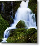 Emerald Falls Metal Print