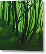 Emerald Forest. Metal Print