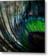Emerald Shadows Metal Print