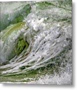 Emerald Storm Metal Print