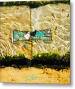 Emerald Tide Metal Print