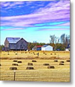 Emergence _ The Hues Of Spring - Paint Metal Print