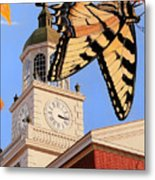 Emergence Of The Butterfly Metal Print