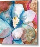 Emerging Flower Metal Print