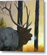 Emerging Monarch - Elk Metal Print