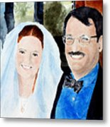 Emily And Jason Metal Print