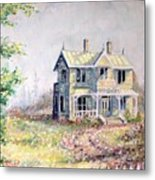 Emily Carr's Birthplace Metal Print