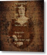 Emily Dickinson 4 Metal Print