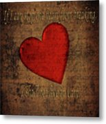 Emily Dickinson Metal Print
