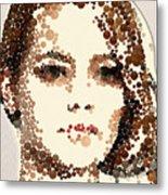 Emma Stone Metal Print