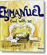 Emmanuel Metal Print