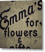Emma's Metal Print