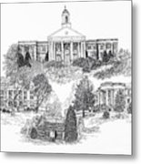 Emory And Henry College Metal Print