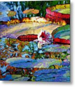Emotions Of Color Light And Texture Metal Print