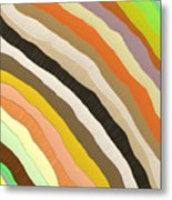 Emotive Pattern Metal Print