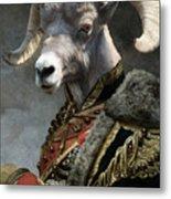 Emperor Jstor Jax Metal Print