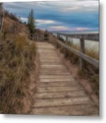 Empire Bluffs 3 Metal Print