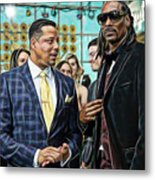 Empire Lucious And Snoop Dog Metal Print