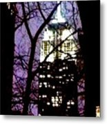 Empire State From Madison Park 1 Metal Print