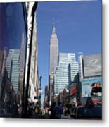 Empire State Of Mind In The Late Springtime Metal Print
