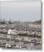 Empty Harbor Metal Print