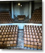 Empty Movie Theater - Urban Exploration Metal Print
