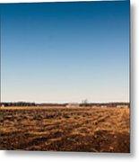 Empty Potato Fields Metal Print
