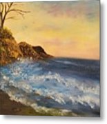 Empty Shore Metal Print
