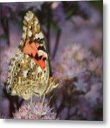 En Garde - Painted Lady - Butterfly Metal Print