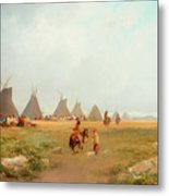 Encampment Metal Print