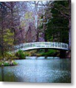 Enchanted Bridge Metal Print