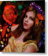 Enchanted Butterfly Metal Print