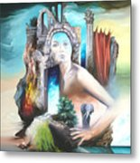 Enchanted Island Metal Print