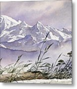Enchanted Mountain Metal Print