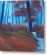 Enchanted Surrealism Metal Print by Cynthia Adams