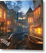 Enchanted Waters Metal Print
