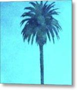 Encinitas Palm Metal Print