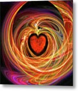 Encompassing  Love Metal Print